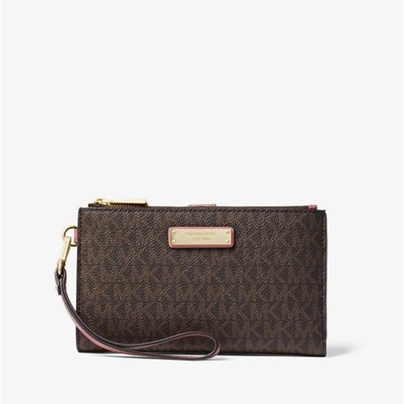 3e3c67e8f18321 Michael Kors Bags | New Wallets Womens Adele Double Zip | Poshmark